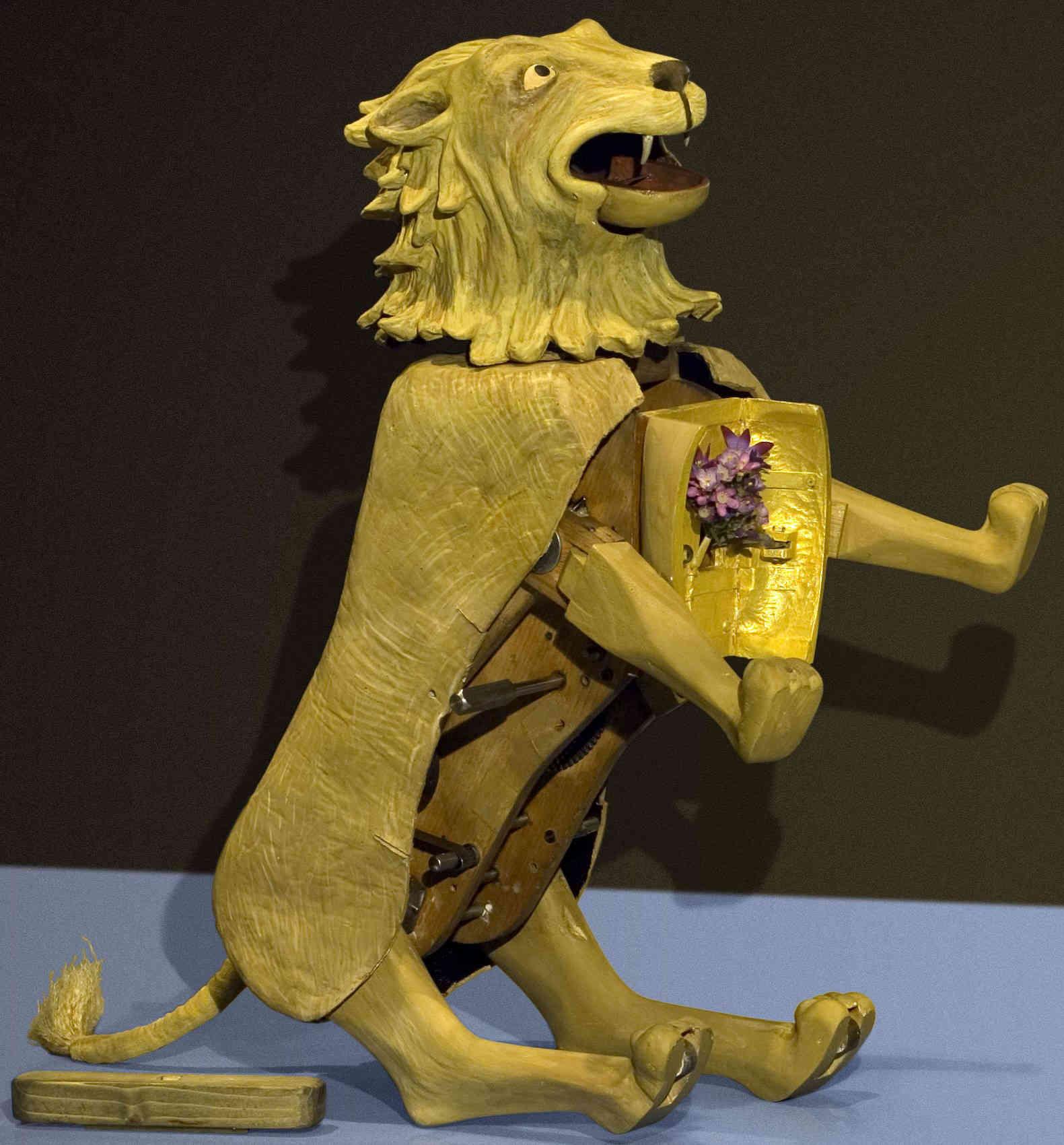 Αποτέλεσμα εικόνας για robot λιον leonardo da vinci